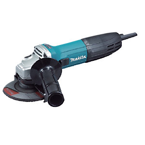Makita 110V 115mm Angle Grinder with Diamond Blade 9557NBD