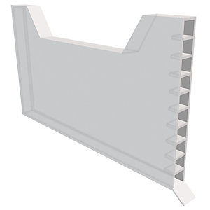 Manthorpe Weep Vent Clear 9mm x 65mm