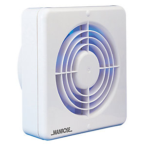 Manrose 150mm/6 Standard Fan Blister Pack White