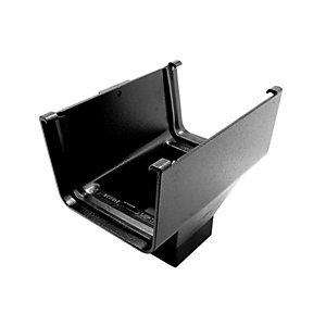 Alutec Evolve Box Outlet Heritage Black 72 x 72mm