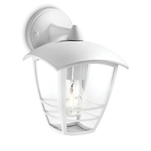 Philips Creek Wall Down Lantern White
