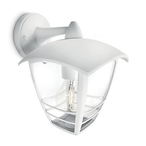 Philips 60W Creek Wall Lantern White
