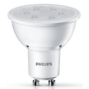 Philips GU10 LED Non-dimmable Spot Bulb 3 Pack 3.5W