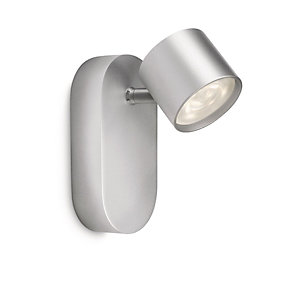 Philips Star LED Single Spotlight Aluminium