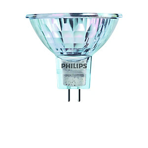 Philips 50W MR16 12V Lv Halogen Spot Bulb 3 Pack