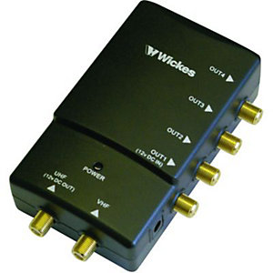 Wickes 4 Way Digital Pro Amplifier