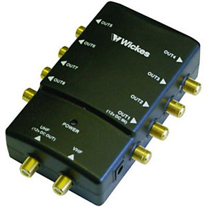 Wickes 8 Way Digital Pro Amplifier