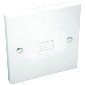Maxview Telephone Flush Extension Socket Single