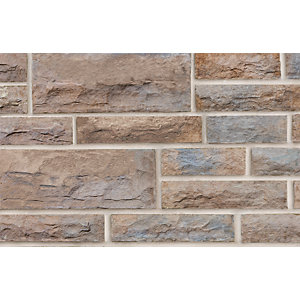 Heritage Walling 140mm Project Pack B Weathered Yorkstone
