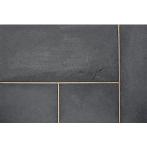 Marshalls Fairstone Black Limestone 275mm x 275mm x 22mm