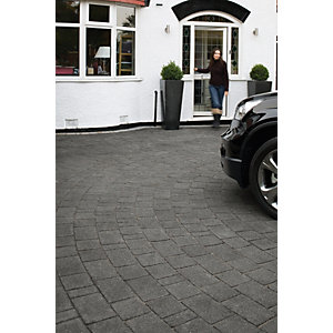 Image of Marshalls Argent 10.75m2 Driveway Pack - Dark Grey