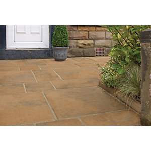 Marshalls Firedstone 600 x 600 x 38mm Single - Autumn