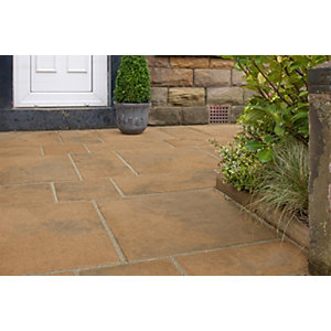 Marshalls Firedstone 600 X 300 X 38mm Single - Autumn