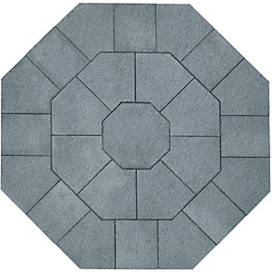 Wickes Buxton Octant Kit 2390x2390mm Charcoal