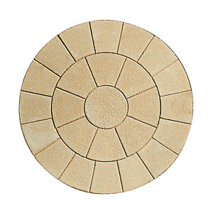 Wickes Buxton Circle Kit 2470x2470mm Buff