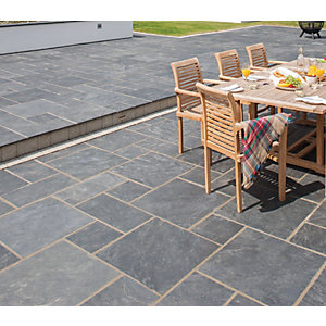 Marshalls Natural Slate 600 x 600 x 20mm PK40 - Midnight Blue