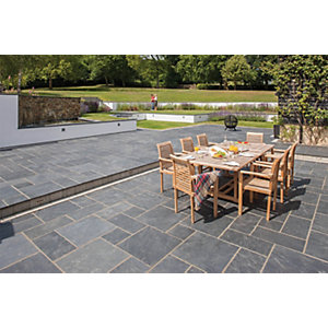 Marshalls Natural Slate 600 x 295 x 20mm PK80 - Midnight Blue