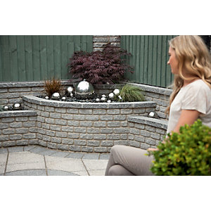 Wickes Marshalite Walling 440x100mm Ash 80 pack