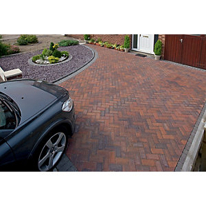 Marshalls Driveline Block Paving Priora 200 x 100mm Pack 404 - Brindle