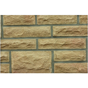 Wickes Heritage Yorkstone Walling Project 100x65mm Pack A