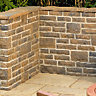 Wickes Heritage Walling Project Calder Brown 140x65mm Pack A