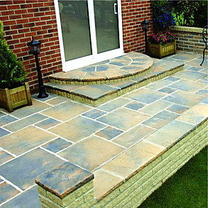 Wickes Wentworth Paving 600x300mm Calder Brown Single