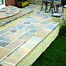 Wickes Wentworth Paving 300x300mm Calder Brown Single