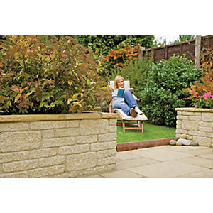 Wickes Marshalite Walling 300x100mm Buff 297 Pack