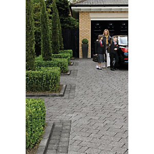 Marshalls Drivesett Kerb 120 x 240mm Pack 192 - Pennant Grey