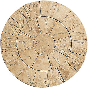 Wickes Heritage Paving Circle Kit Yorkstone