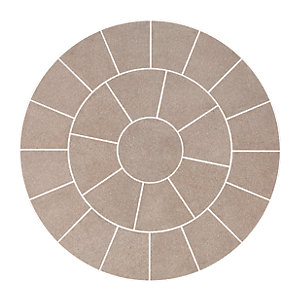 Wickes Saxon Circle Kit 2440x2440mm Mocha