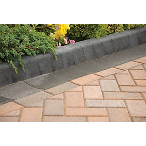 Marshalls Keykerb KL 127x100x200mm Charcoal 252 Pack