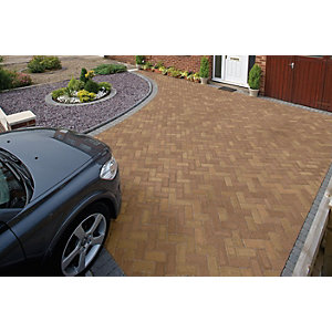 Marshalls Driveline Priora Block Paving 200 x 100mm Pack 404 - Bracken