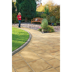 Marshalls Coach House 9.7m2 Patio Pack B - Cotswold