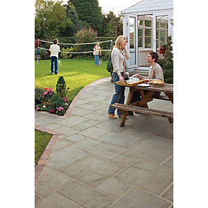 Wickes Coach House Pennant Paving Project Pack A