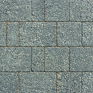 Wickes Argent Block Paving Dark Project Pack