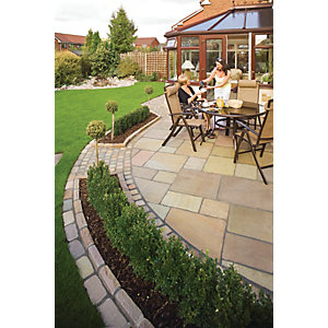 Marshalls Antique Alverno Patio Pack 15.5m2 - Autumn Bronze