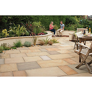 Wickes Fairstone Sawn Paving 560x275mm Design A 120 Pack