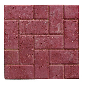 Wickes Block Paving 200x100mm Red Single