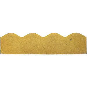 Marshalls Contour Path Edging 600 x 150mm Single - Buff