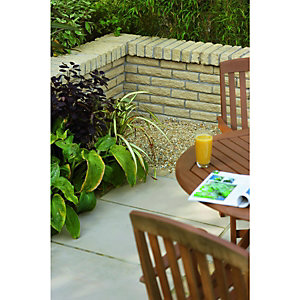 Wickes Buxton Walling 300x100mm Buff 297 Pack