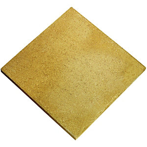 Wickes Derby Utility Paving Slab 400x400mm Buff Single
