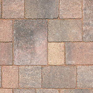 Marshalls Drivesett Tegula Concrete Block Paving Small Traditional 120mm x 160mm x 50mm (England & Wales)