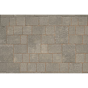Marshalls Drivesett Tegula Pennant Grey 320 x 240 x 50mm Jumper E&w XL