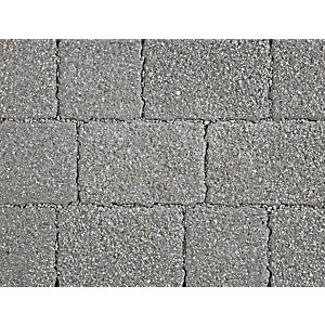 Marshalls Drivesett Argent Priora Block Paving Dark Mixed Size Pack
