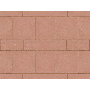 Marshalls Saxon Paving Red 600mm x 600mm x 35mm