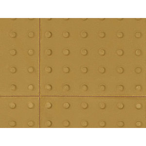 Pressed Paving Blister Slab Buff 400mm x 400mm x 50mm