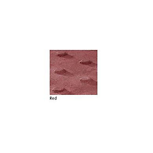 Pressed Paving Blister Slab Red 400mm x 400mm x 50mm