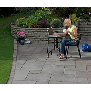 Marshalls Firedstone Patio Pack 5m2 - Dusk