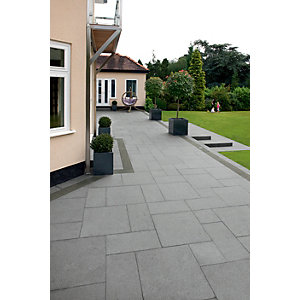 Marshalls Granite Eclipse 17.9m2 Patio Pack - Graphite